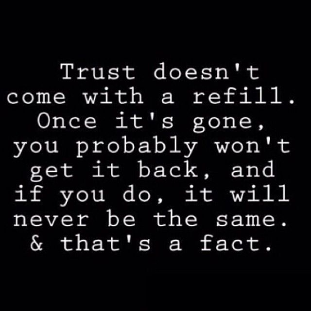 Earn Trust Trust Quotes Words Words Quotes