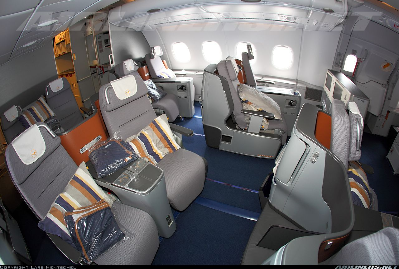lufthansa airbus a380 841 d aiml cn 149 business class on lh 39 s latest a388 commercial. Black Bedroom Furniture Sets. Home Design Ideas
