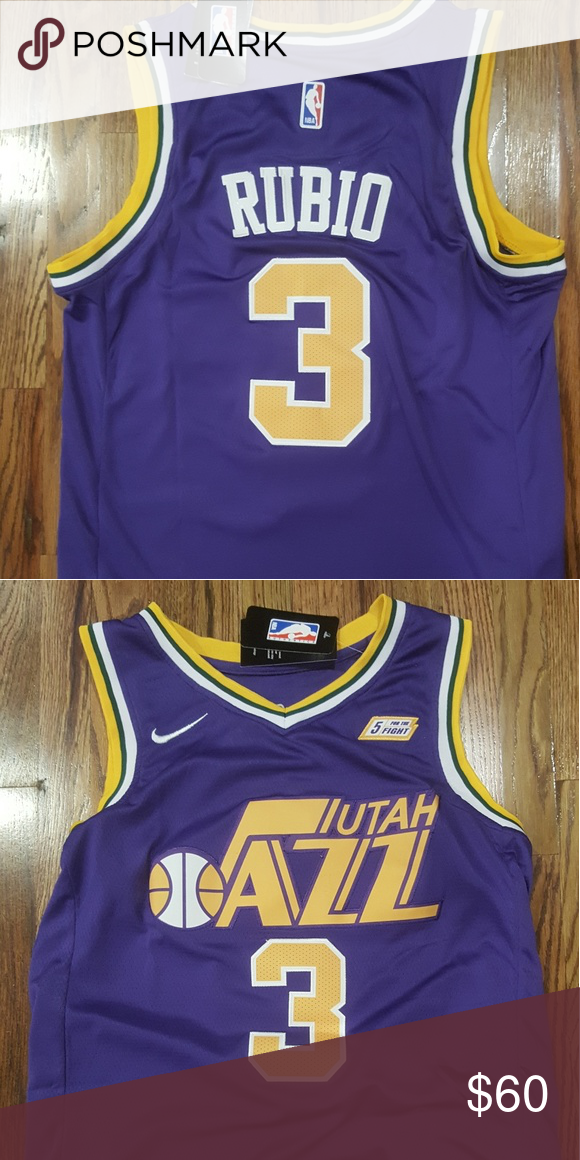 new concept 018a8 2c36e Utah Jazz purple throwback Swingman Jersey Donovan Mitchell ...