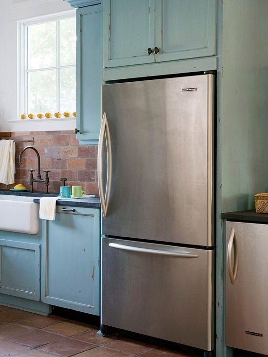 Stylish Ideas For Kitchen Cabinet Doors  Distressed Painting Entrancing Distressed Kitchen Cabinets 2018