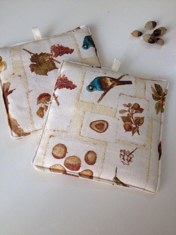 Complete Kitchen Composed Of Copriforno 2 Pocket Pot Holders Bag Holder And Coprifornelli Measure 61x51 Suitabl Pegador De Panelas Termica Pegador