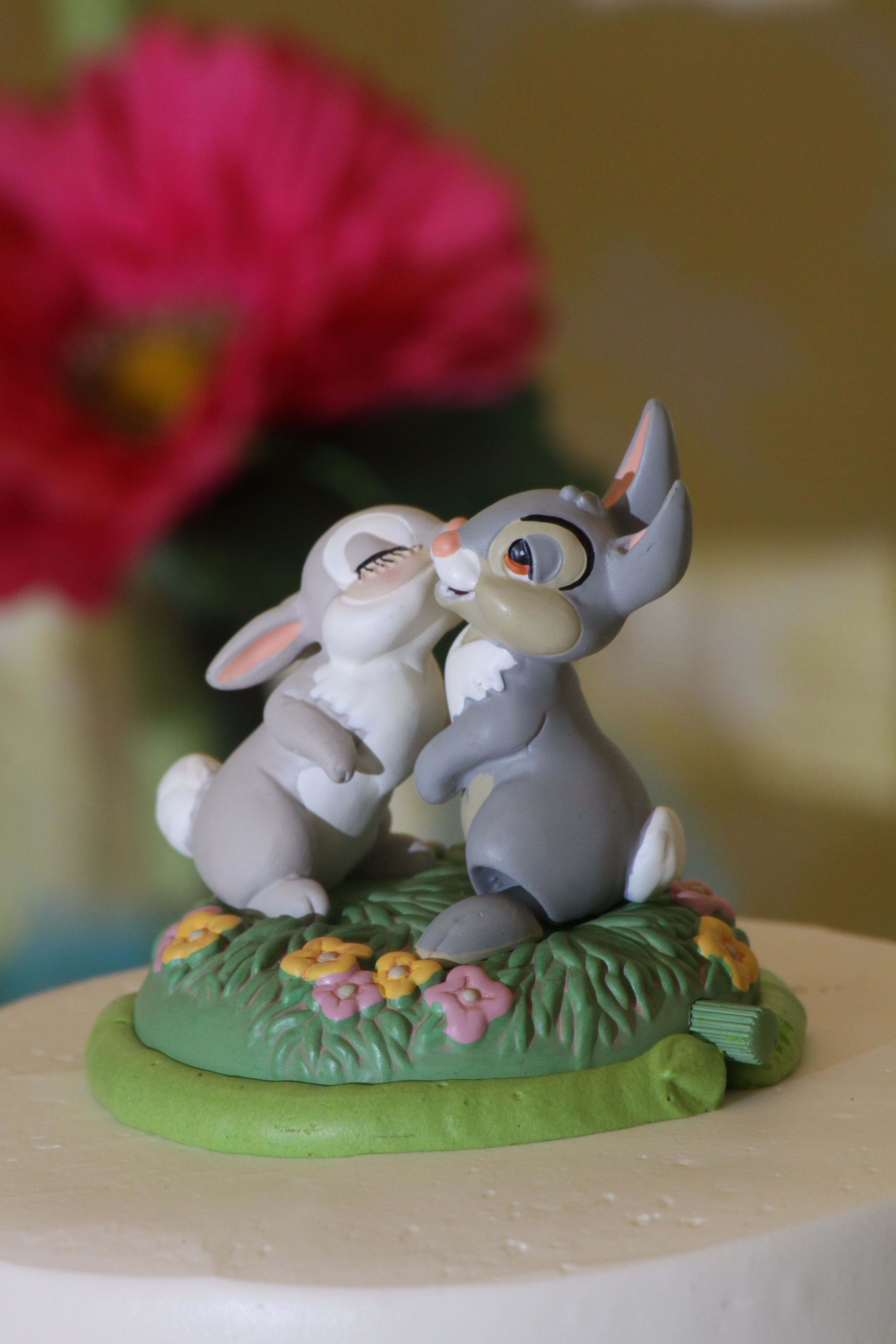 Wedding cake ornaments - Thumper And Miss Bunny Disney Cake Topper Wedding Weddingcake Was A