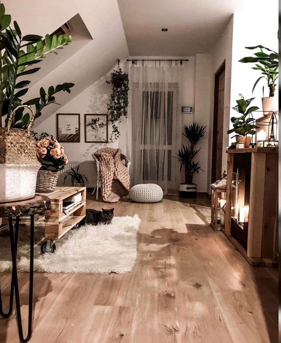 "Photo of Interior Design & Decor on Instagram: ""Loving there neutral vibes 🧡✨🌿🐈😍 Follow @gypsytribex @tatiana_home_decor"""