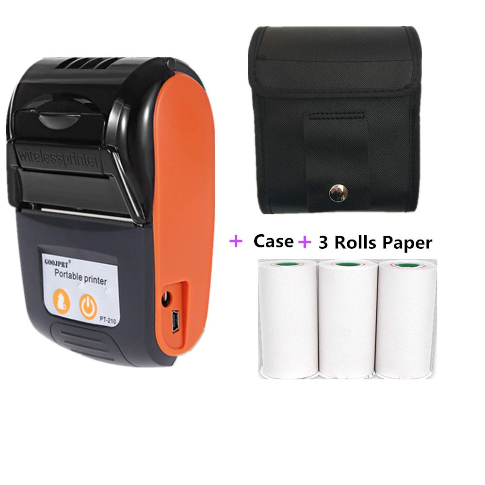 Cheap Printers Buy Directly From China Suppliers Goojprt Wireless Mini 58mm Bluetooth Printer Portable Thermal Rec Printer Android Technology Portable Printer