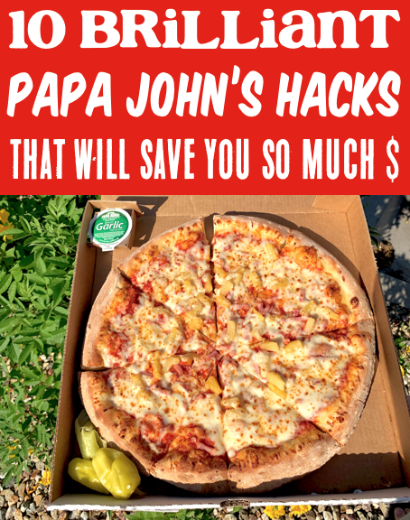 Papa John S Hacks You Ll Wish You Tried Sooner Papa Johns Fall Party Food Pizza Hacks