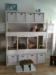 Pin By Justine On Cavia Verblijven House Rabbit Rabbit Hutches Rabbit Cages