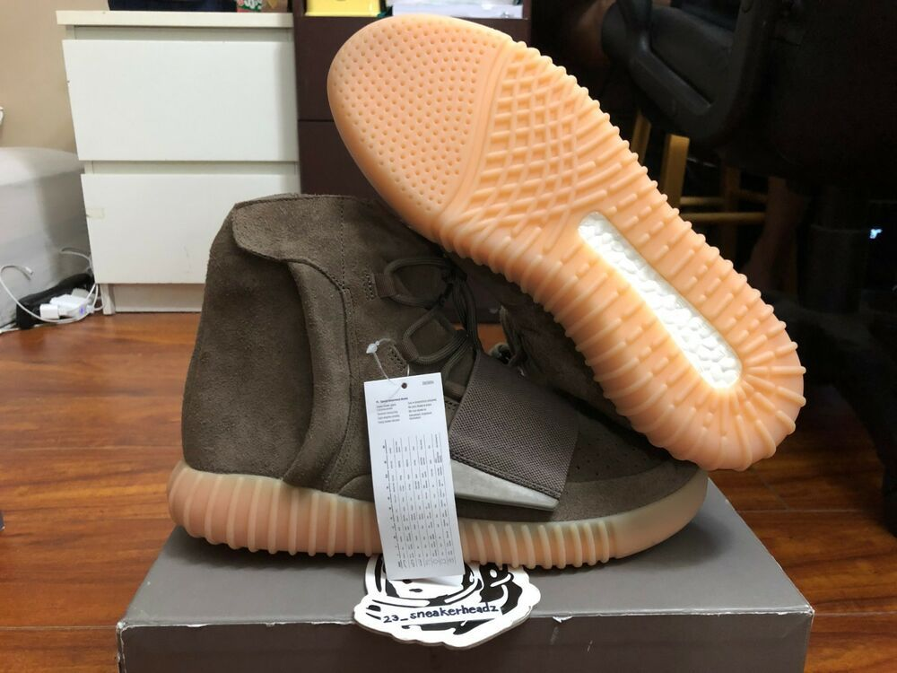 85edb3764 goVerify Genuine Seller  23 Sneakerheadz  One of our favorite sellers on  eBay. For Sale  Adidas yeezy boost 750 Chocolate.