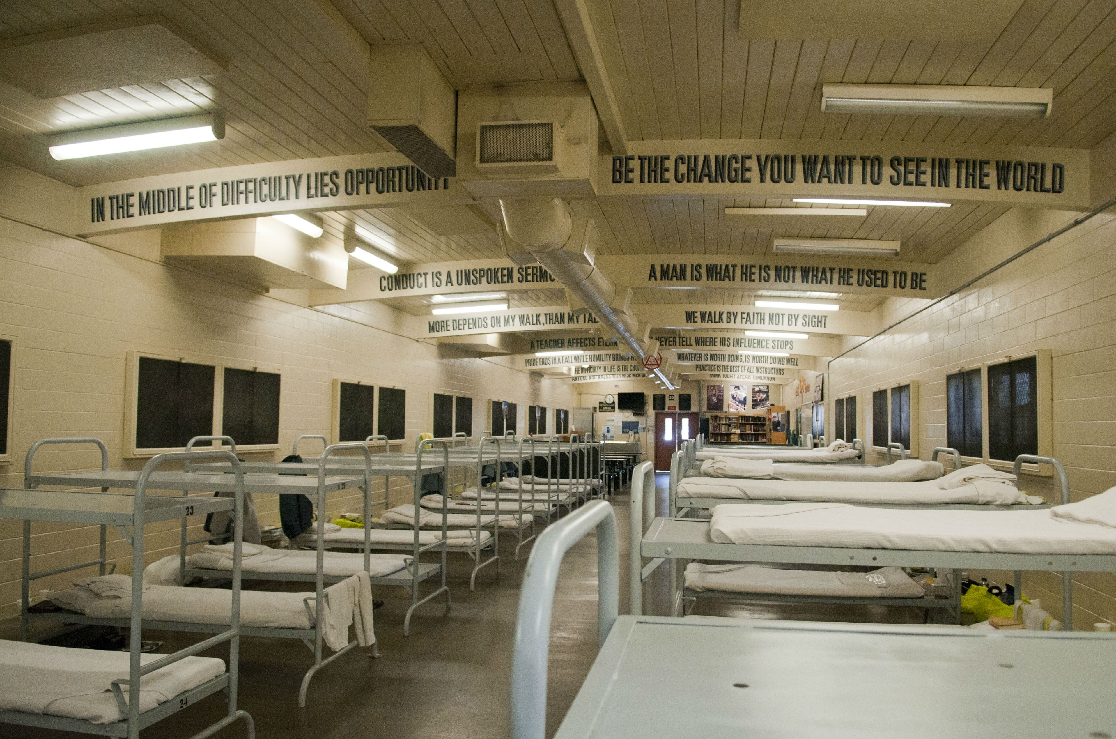 Merit Program Pdc South Inmate Dorm Room County Jail A Separate Peace Jail