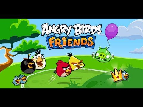 Angry Birds Friends Iphone Ipod Touch Ipad Android Gameplay Hd