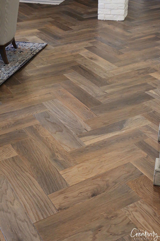 Oak Flooring Love The Herringbone Pattern On These