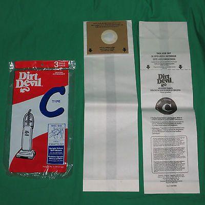 Vacuum Cleaner Bags 20618: Genuine Royal Dirt Devil Style C Vacuum Bags Deluxe Mvp Oem Type Vac 3700147001 -> BUY IT NOW ONLY: $65.2 on eBay!