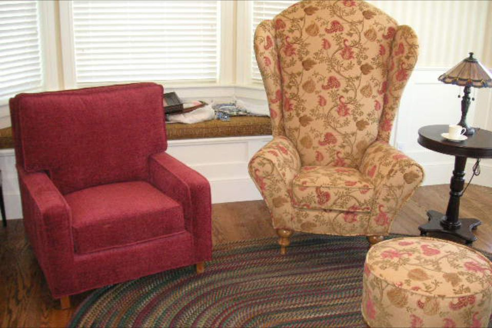 Carl Elle S Chairs From Up Furniture Custom Upholstery Chair