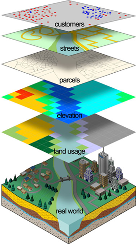 Gis Technology Applied To Geography Remote Sensing And Gis Map Remote Sensing