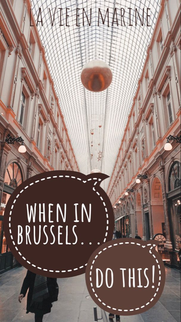 8 hours in Brussels? What you need to see! - La Vie En Marine #travelbugs