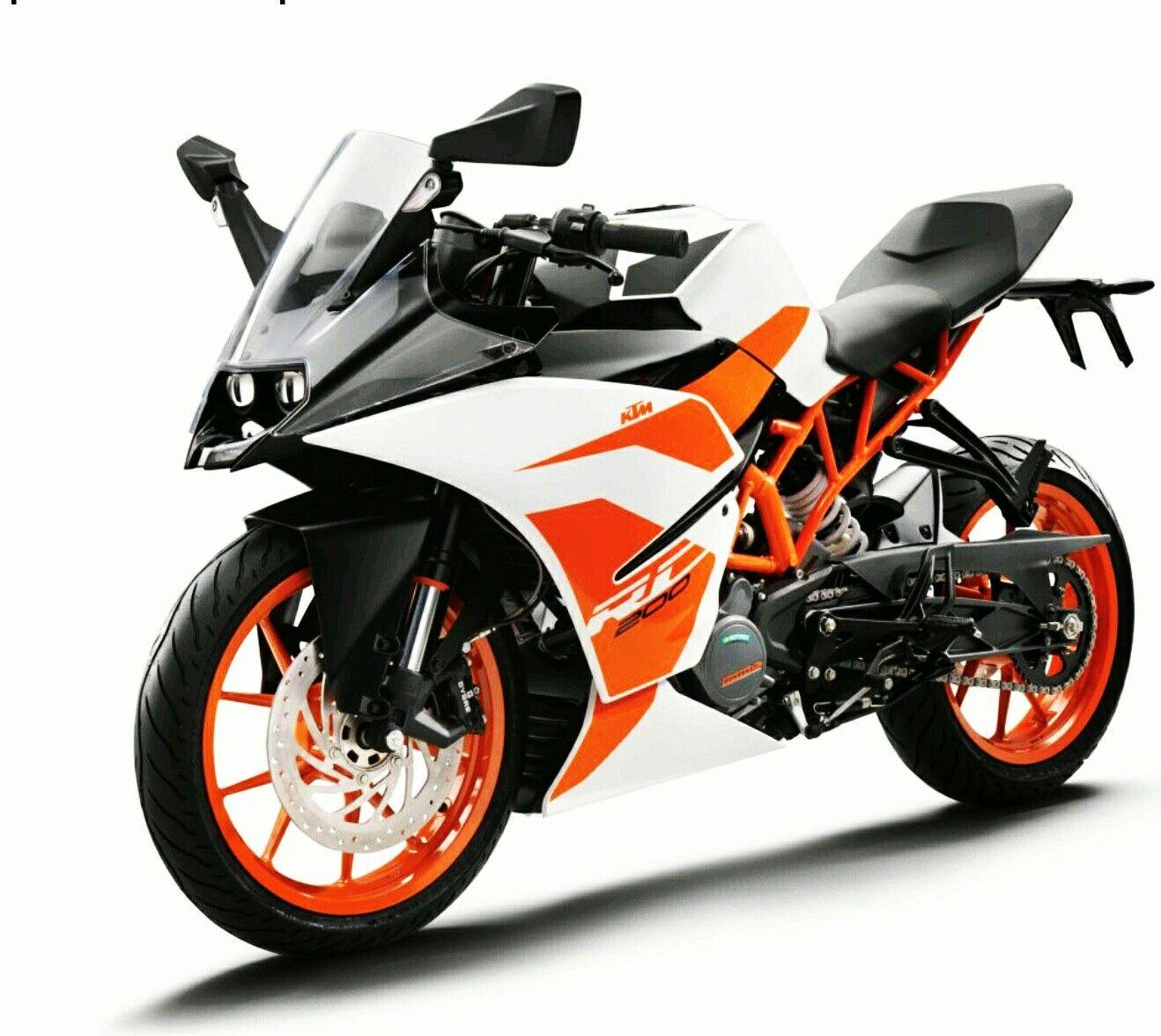 Ktm Rc 200 2017 Ktm Rc Ktm Ktm Motorcycles