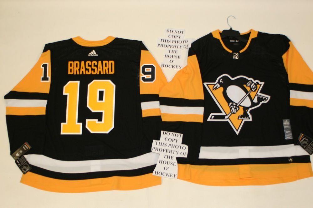 Derick Brassard Pittsburgh Penguins Adidas Home Authentic Hockey Jersey   AdidasRetailStoreAuthentic  PittsburghPenguins ef4ee387f