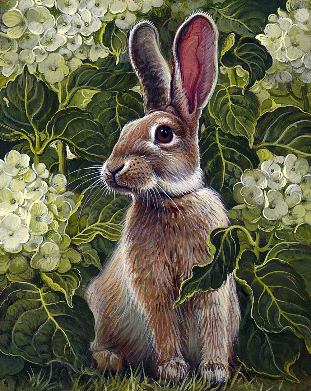 Картинки для декупажа животные в лесу