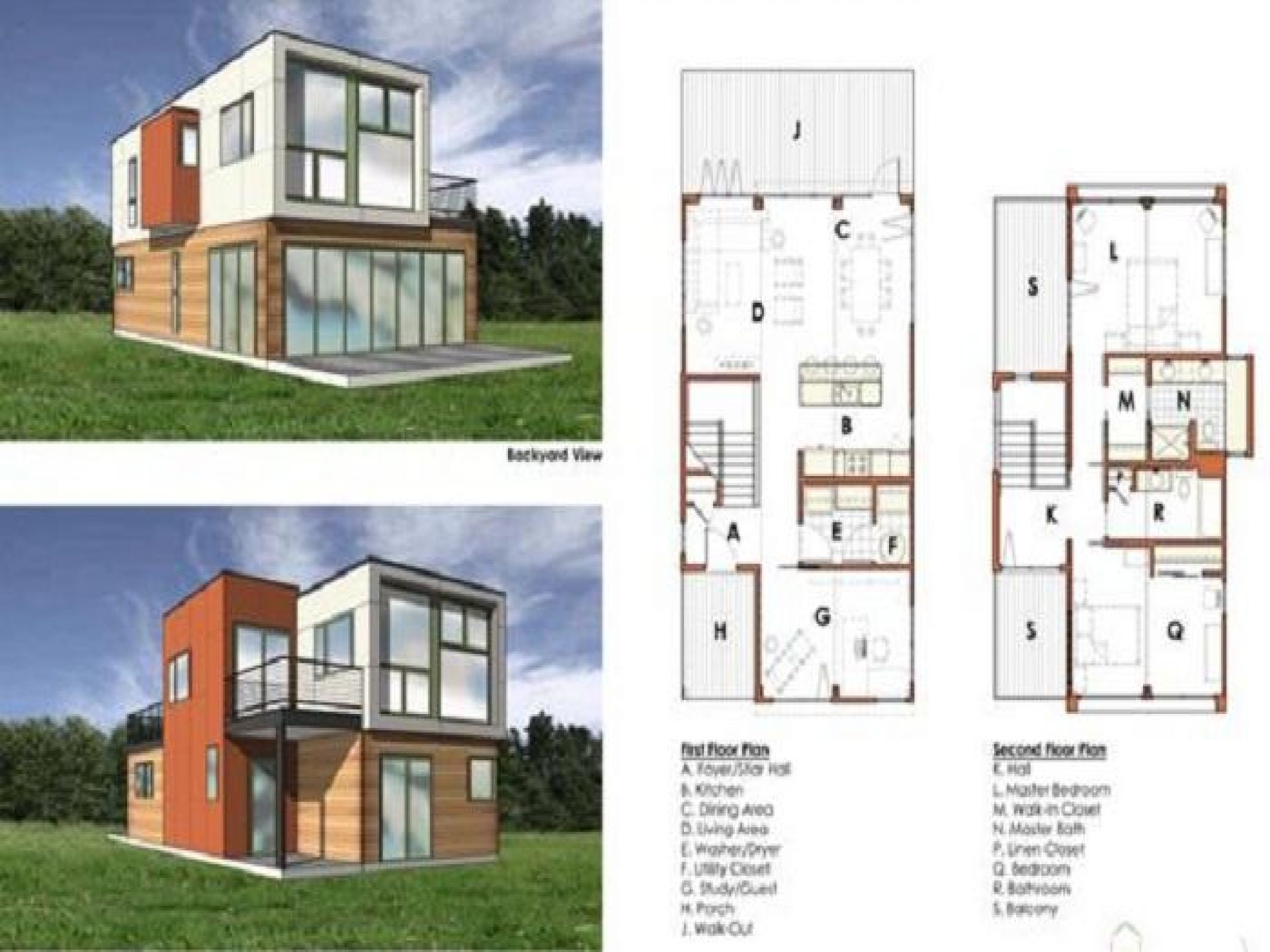Container Home Design 2 Container Home Floor Plans