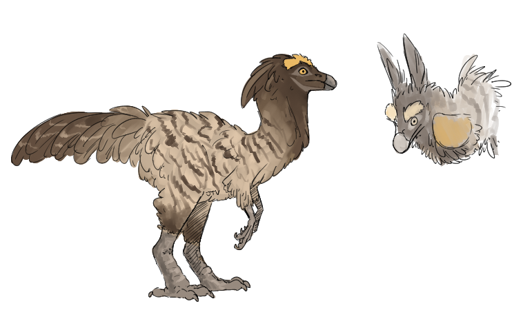 From the creature generator  I got medium sized, herbivorous
