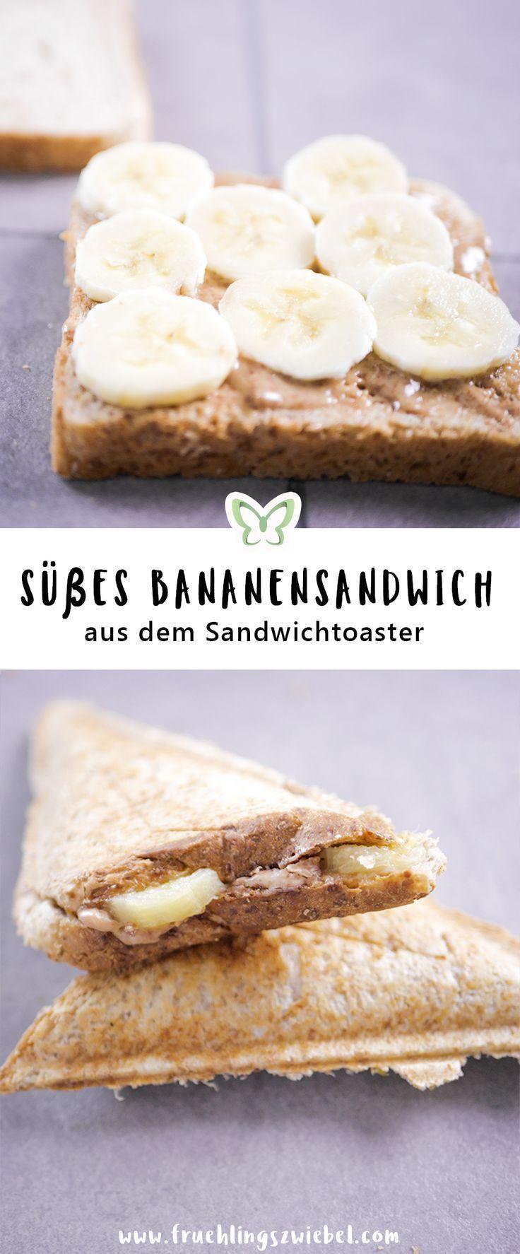 Sandwichmaker Rezepte - 4 gesunde Sandwich Toasts Ideen #peanutrecipes
