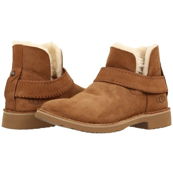 d973052b959 UGG McKay (Chestnut) Women's Boots ($150) ❤ liked on Polyvore ...