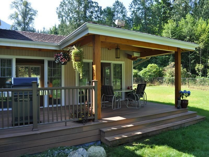 How To Build A Small Porch Roof Back Porch Building A Porch