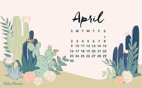 April 2017 Free Wallpaper Calendar