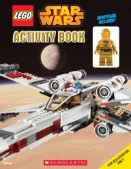 LEGO Star Wars: Activity Book # 1 with C-3PO Figure