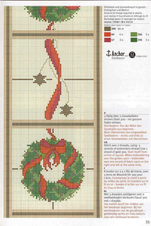 Pin by nadine on cross stitch pinterest wreaths cross stitch
