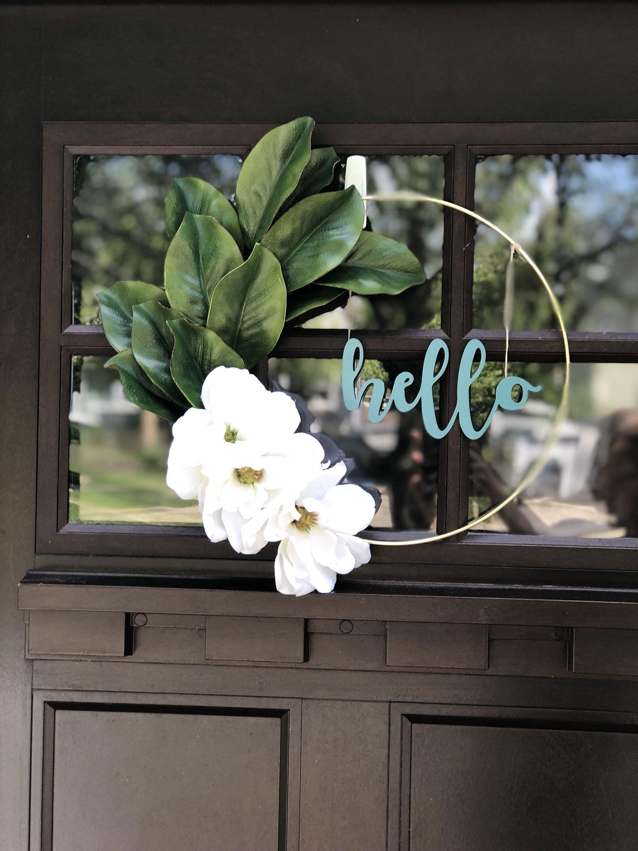 Photo of 39 Modern Spring Floral Hoop Wreaths for Home Decor – homeridian.com