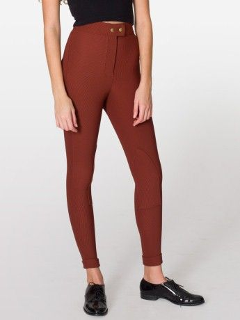 6836adcacea  AmericanApparel riding pant - not a fan of the color