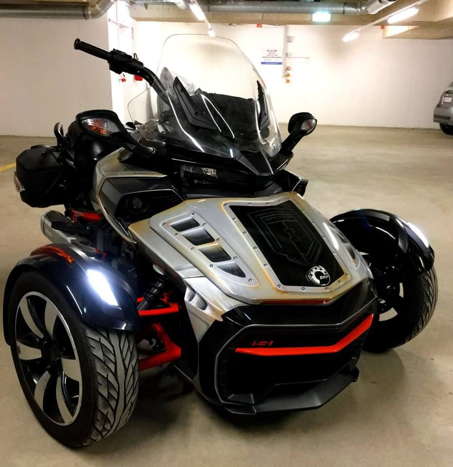 Pin by Mark M  on Spyder Man | Can am spyder, Can am, Motorbikes