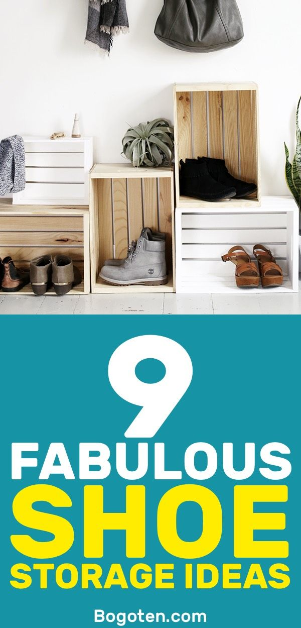 Want Some Shoe Storage Ideas? These Shoe Storage Ideas Are Easy To Make And  Will
