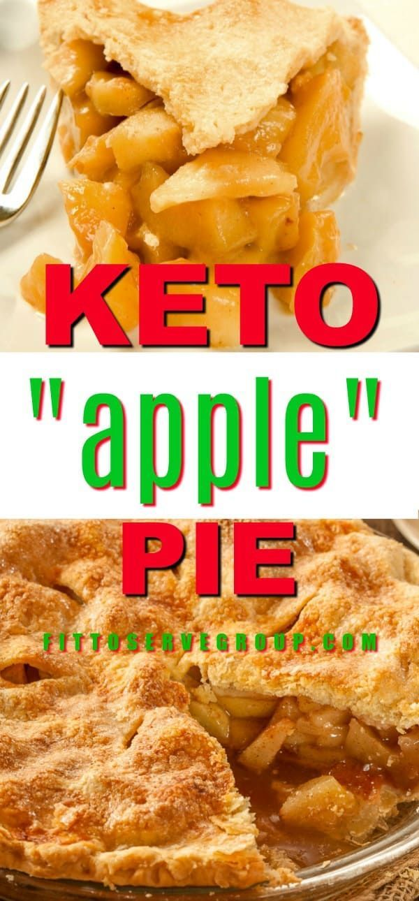 Keto Apple Pie #chayoterecipes