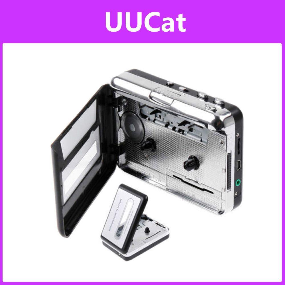 [S$22.00][UUCat]USB Cassette Capture Recorder Radio Player Tape to PC Super Portable USB Cassette To MP3 Converter