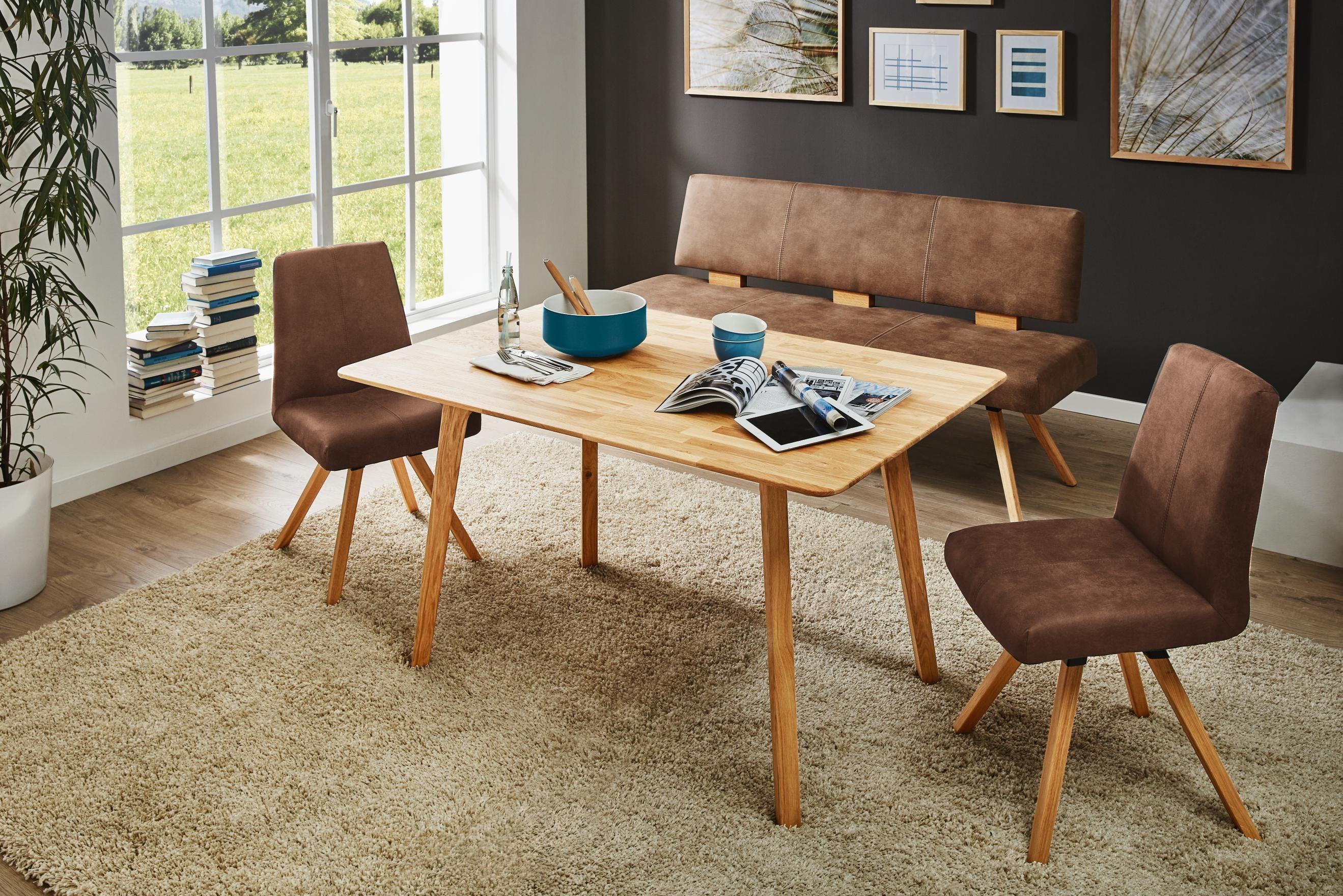 Küchenstühle Roller ~ Sitzbank von valnatura: echtes wildeichenholz im essbereich