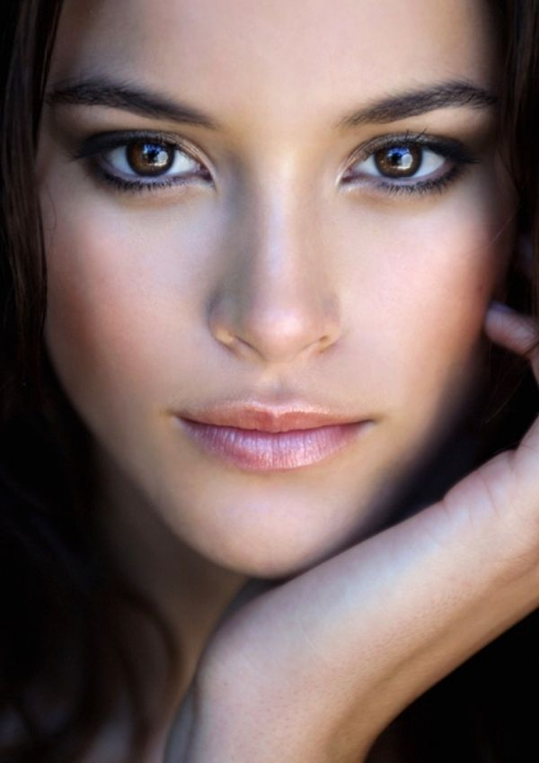 Non Photo Shopped Picture Nice Brown Eyes Eye Shadow
