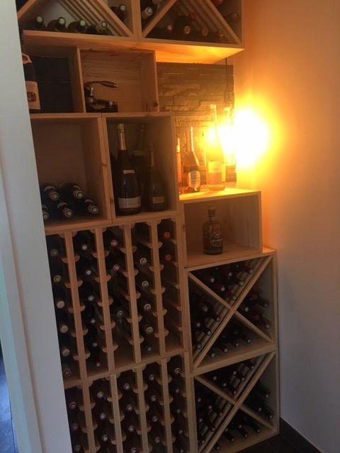 Lacaseavin Com Casiers Pour Bouteilles Casier Vin Cave A Vin Rangement Du Vin Amenagement Cave Casier Bois Meuble En Bois Magnifiqu Cave A Vin Amenagement Cave A Vin Et Amenagement Cave