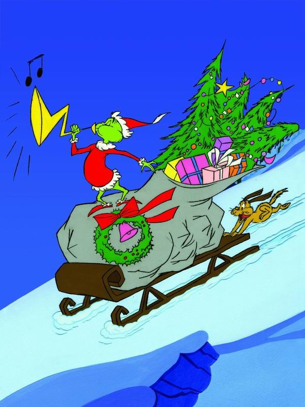 Grinch Sleigh Google Search With Images Grinch Christmas Grinch Christmas Decorations