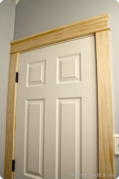 Replacing Door Trim : replacing, Craftsman, Door,