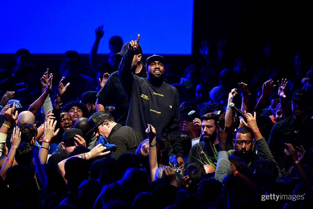 Getty Images Entertainment On Instagram Kanye West Performs During His Jesus Is King Album And Film Experience At The Forum Gospel Music Kanye West Rapper