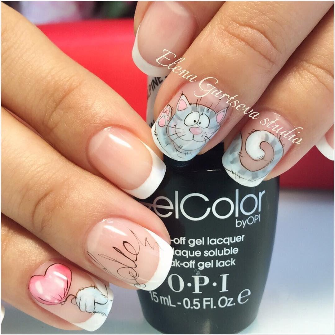 Hermosas | maniqure | Pinterest | Diseños de uñas, Pedicura y Manicuras