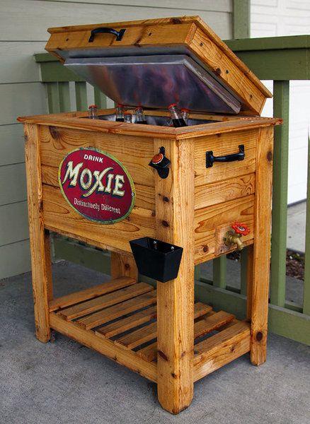 Rustic Cedar Fence Picket Deck Porch Cooler Icebox Wooden Cooler Deck Cooler Wood Cooler