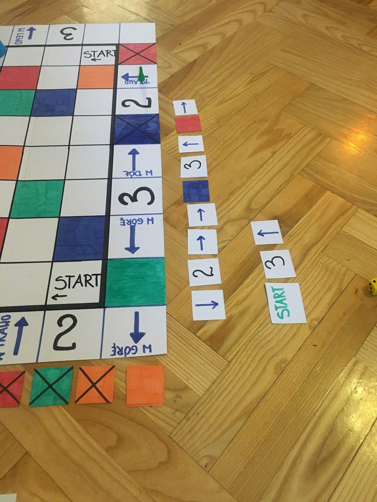 Kolorowe Kodowanie Gra Planszowa Matematyka Kodowanie