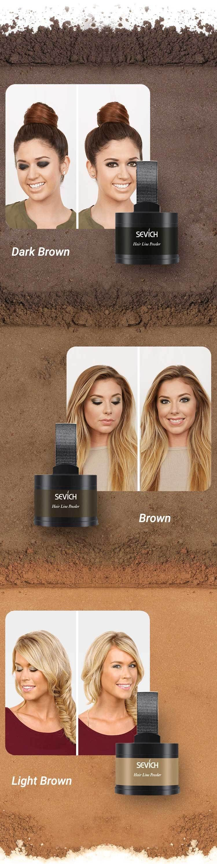 Sevich Hairline Root Touch Up Powder Glamtouche Root Touch Up Powder Root Touch Up Root Touch