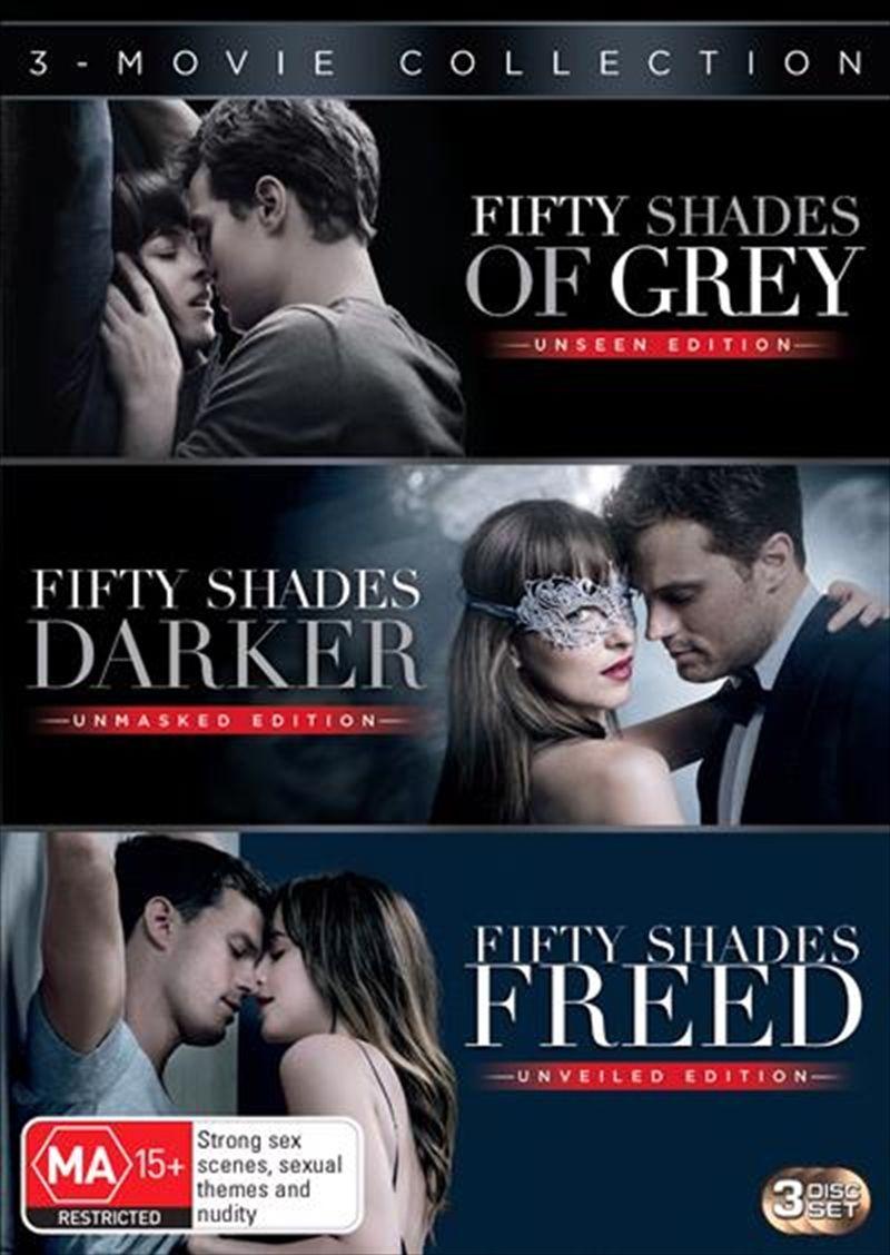 Fifty shades of grey fifty shades darker fifty shades