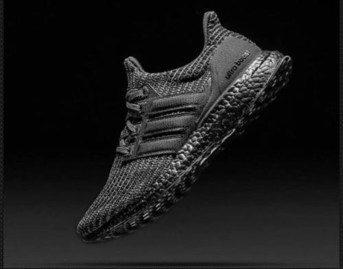 huge selection of 0321f 4fc39 Adidas Ultra Boost Ultraboost 4.0 Triple All Black BB6171 Size 10