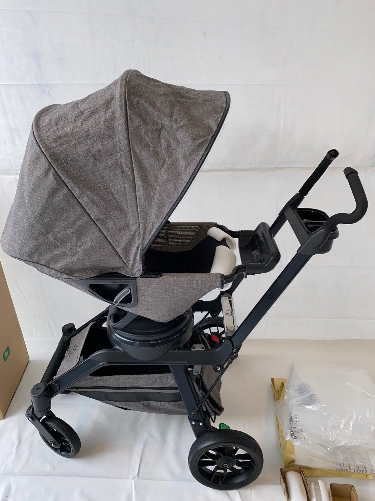 Orbit baby used Stroller frame Stroller seat Cargo basket
