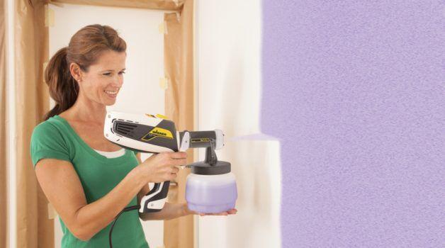 Farbsprühsystem Für Wandfarbe Die Beste Farbspritzpistole