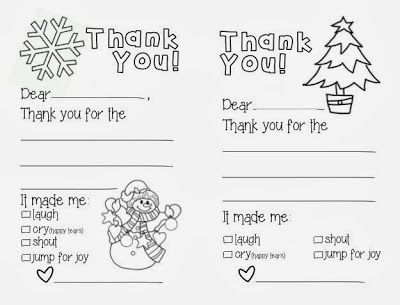 Free Printable Thank You S From Create Kids Couture Free Patterns